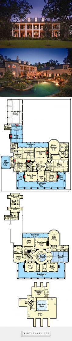 Your Very Own 9360 sq ft Southern Plantation Home