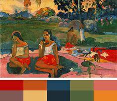 Artist: Paul Gauguin. Tahiti inspiration