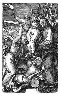 Durer - Betrayal of Christ (Passion № 3)1508