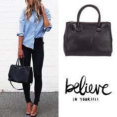 www.marington.nl Believe in Yourself. #outfit #ootd #bag #tas #fashion