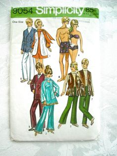 SALE Vintage Barbie and Ken Doll Clothes