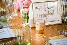 Eine Frühlingshochzeit in Dresden | Friedatheres.com  Goldene Tischdeko Hochzeit   Hochzeitsdesign: Avantgarde Hochzeiten  Fotografie: Li.fe Fotografie