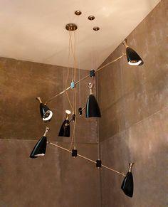 Duke Contemporary Suspension Lamp   DelightFULL
