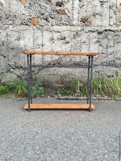 Купить Стол MIDTOWN - коричневый, купить мебель, лофт мебель, лофт, индустриальный стиль