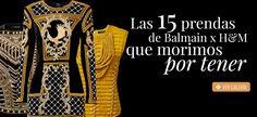 Colección de Balmain x H&M precios