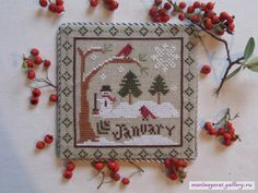 Gallery.ru / January - Primitive calendar - marinagera1