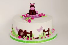horse cakes for girls birthday | horse cake i made this 8 cake for an organization called birthday ...