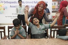 ISPO Pakistan and its partner organisations held events across Pakistan for World CP Day 2014.