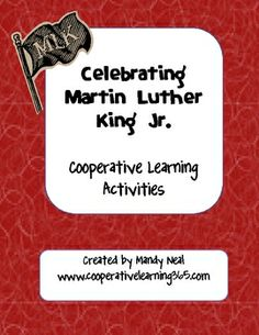 This pack includes two activities.  Students  list character traits for Martin Luther King, Jr. with a partner and share what they know about him w...