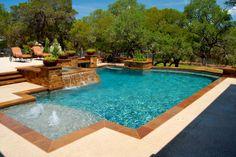 geometric swimming pool designs - Google Search