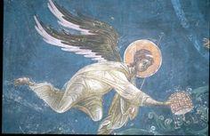 BLAGO   BLAGO   Monastery Gracanica     Frescoes Slides