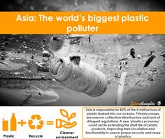 Will recycling plastics make a dent on global pollution? #Spire#Spirethoughts#Asia#Plastic#Polluter#Ocean#Reuse#Recycle
