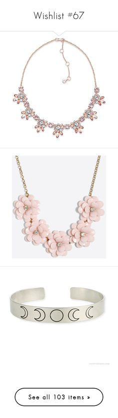 """""""Wishlist #67"""" by moon-and-starss ❤ liked on Polyvore featuring jewelry, necklaces, rose gold, marchesa jewelry, marchesa, rose gold tone jewelry, collar jewelry, collar necklace, accessories and beading necklaces"""