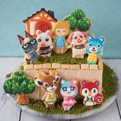 Animal Crossing Fan Art, Animal Crossing Villagers, Animal Crossing Pocket Camp, Cute Birthday Cakes, 6th Birthday Parties, 10th Birthday, Cabello Animal Crossing, Animals For Kids, Cute Animals