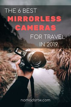 Check the 6 best mirrorless cameras for travel in 2019 and decide with suits your needs better Best Camera For Photography, Book Photography, Photography Basics, Sony Camera, Digital Camera, Camera Gear, Camera Sensor Size, Optical Image, Camera Reviews