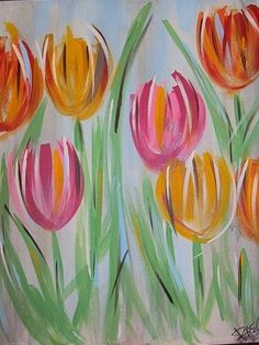 Instructor led Painting Classes, Ridgeland and greater Jackson Mississippi area Spring Painting, Spring Art, Diy Painting, Painting & Drawing, Painting Classes, Learn To Paint, Pictures To Paint, Art Plastique, Painting Inspiration