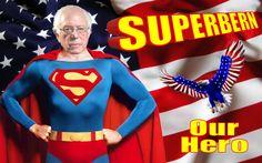 Bernie Sanders Superman