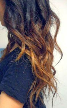 20 Blue Hair Color Ideas for Dark Hair - Hair Colour Style Diy Ombre Hair, Black Hair Ombre, Hair Color Dark, Ombre Hair Color, Dark Ombre, Light Ombre, Subtle Ombre, White Hair, Color Black