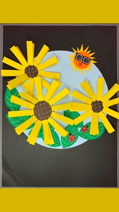Summer Crafts For Kids, Diy For Kids, Sunflower Crafts, Star Magic, Diy Tops, Too Cool For School, Beautiful Christmas, Wands, Kid Stuff