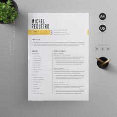 Resume/CV by Reuix Studio on If you like this cv template. Check others on my CV template board :) Thanks for sharing!Resume/CV by Reuix Studio on Basic Resume, Simple Resume, Resume Cv, Professional Resume, Visual Resume, Resume Layout, Unique Resume, Resume Words, Graphic Design Resume