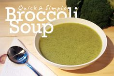 The easiest broccoli