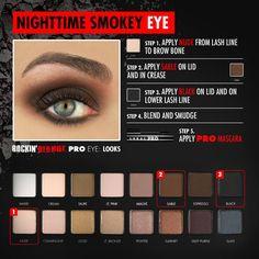 A Nighttime Smokey Eye is perfect for a Christmas Eve look. Xo Carol