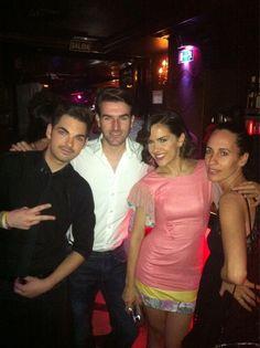 Disfrutando esta noche de lunes con los grandes @zenitcom @luqueweb @rokooficial en #LaPosada @RaulRuda