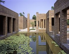 In the wake of partition, the Indian Prime Minister Jawaharlal Nehru enlisted Le Corbusier to build a new Punjab capital. The result, of course, was Chandigarh. A decade or so later, the Pakistani government invited their own super-star architect to bu. Define Architecture, Brick Architecture, Contemporary Architecture, Vernacular Architecture, Pakistan Home, East Pakistan, Faraway So Close, Sustainable Schools, Floating Hotel