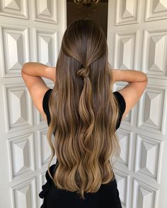 Jewellery For Lady - Balliage Hair, Lace Hair, Brown Hair Balayage, Hair Highlights, Caramel Highlights, Wash Out Hair Color, Front Hair Styles, Hair Front, Gorgeous Hair Color