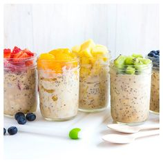 Food - Healthy Over night Oats for Breakfast