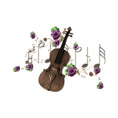 tp-violin4.png ❤ liked on Polyvore featuring music
