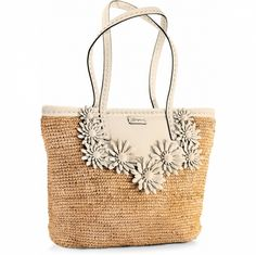 Brighton is known for its exquisitely crafted women's handbags, jewelry, and charms for bracelets, along with many other stylish accessories. Brighton Handbags, Brighton Bags, Straw Tote, Cosmetic Bag, Crochet Patterns, Fashion Accessories, Reusable Tote Bags, Purses, My Style
