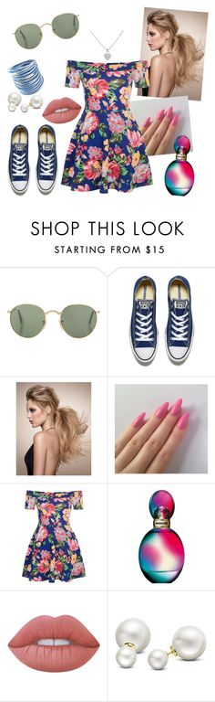 """""""The Royals - Garden Meeting"""" by gilliancate on Polyvore featuring Converse, New Look, Missoni, Lime Crime, Allurez and Tiffany & Co."""