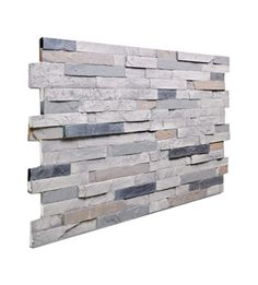 145 BEACH Stacked Slate Wall Panel