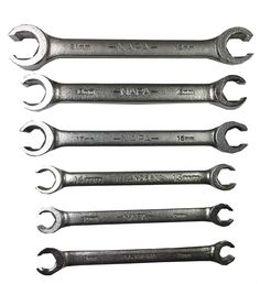 4 PC SAE Flare Nut Wrench Set MADE IN USA FAST N/' FREE SHIPPING!