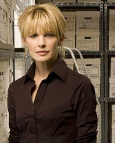 "Kathryn Morris as Lilly Rush on ""Cold Case"""