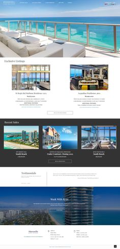 South Beach, Miami Beach, Waterfront Homes For Sale, Sunny Isles Beach, Condos For Sale, Layouts, Custom Design, Real Estate, Real Estates