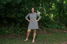 Tilly and the Buttons Coco dress on the Pattern and Branch blog