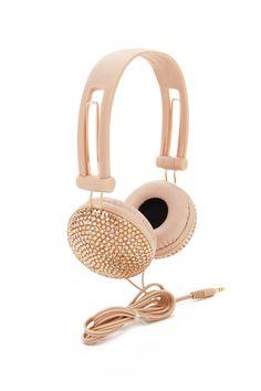 Rhinestone Headphones