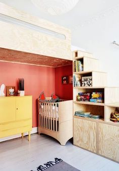 Have a browse of some of our favourite unique storage ideas for kids rooms to help store and hide away all that crazy clutter! Nursery Room, Kids Bedroom, Kids Rooms, Nursery Ideas, Childrens Rooms, Bedroom Ideas, Room Kids, Playroom Ideas, Bed Ideas