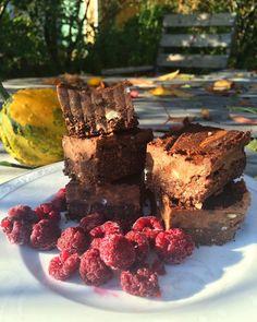 Gluten & lactose free brownies