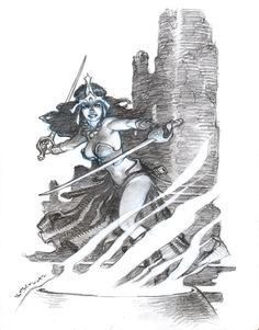 Mark Schultz:   Dejah Thoris