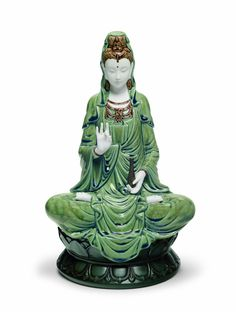 Lladro Kwan Yin Porcelain Sculpture