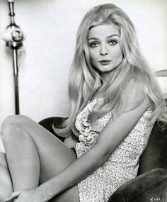 Our other favourite 60s girl at the moment - Ewa Aulin. Another amazing mane of hair