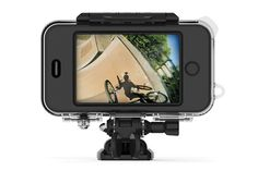 Mophie OutRide action-cam case for iPhone now available: 170 degrees of Xmas footage for $ 150
