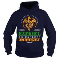 I Love EZEKIEL The Legend Is Alive EZEKIEL An Endless Legend v30 T shirts