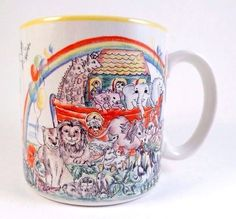 Noah's Ark by Susan Berger Mug Cup Coffee Tea Christian #Unknown