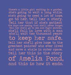 Amelia Pond's afterward
