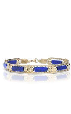The World's Finest Jewelry Gemstone Bracelets, Love Bracelets, Fashion Bracelets, Bangle Bracelets, Ronaldo Bracelet, Wire Jewelry Making, Lapis Lazuli Jewelry, Wire Wrapped Bracelet, Beaded Jewelry
