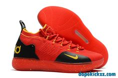 13437a2c4837 This men s Nike KD 11 basketball shoe features a sleek
